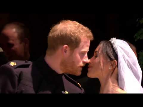 God Save the Queen (UK National Anthem). The Royal Wedding of Prince Harry and Meghan Markle