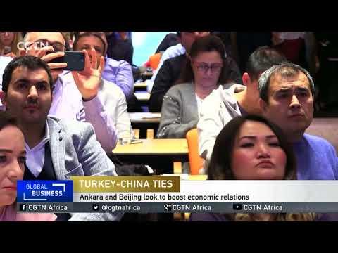 Ankara and Beijing look to boost economic relations