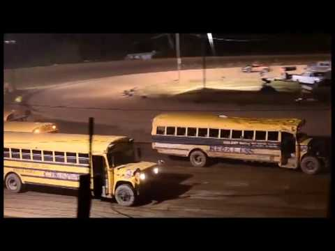 Bus Races at centerville speedway