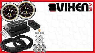"""📢 VIXEN AIR VXF4CM01B 1/4"""" NPT Manifold Air Valve Kit 🔥"""
