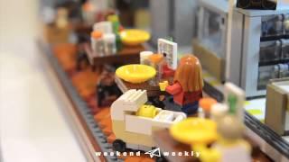 Lego入侵動漫節!砌出老香港!去片!