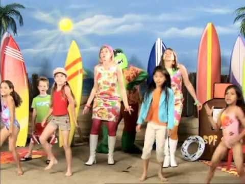 Sunscreen Dance - Sun Safety for the whole family!