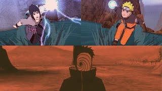 naruto and sasuke vs tobi naruto shippuden ultimate ninja impact final mission
