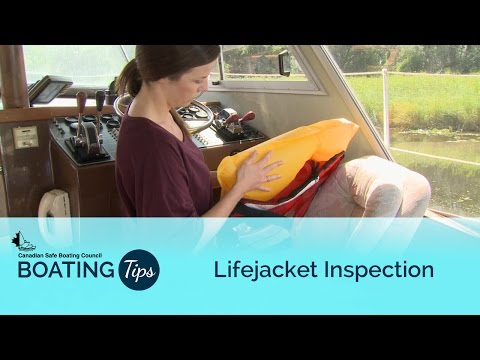 Lifejacket Inspection