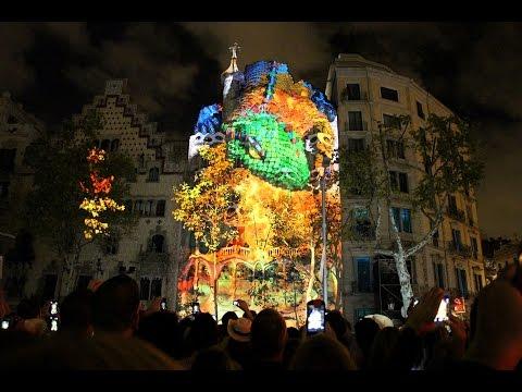 Mapping Casa Batlló Barcelona 2015