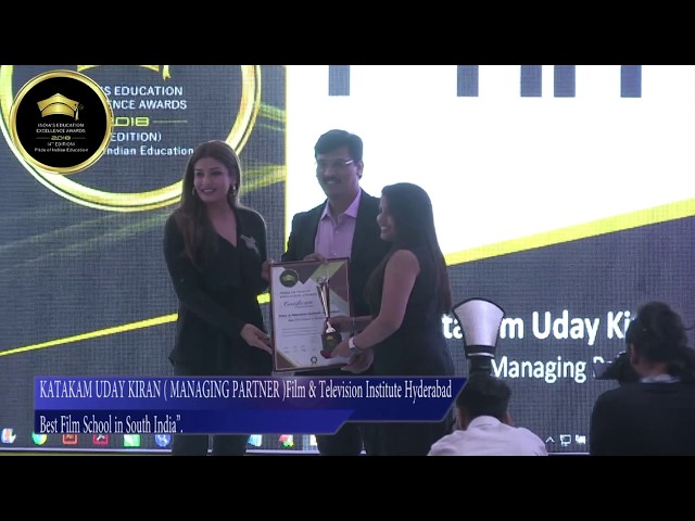FTIH Won Best Film School in South India | PRIDE OF INDIAN EDUCATION AWARDS 2018