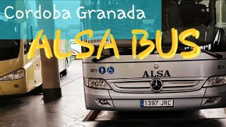 Alsa Bus Cordoba to Granada   Amazing Andalusia - Spain Travel Experience   Faster than Renfe Train