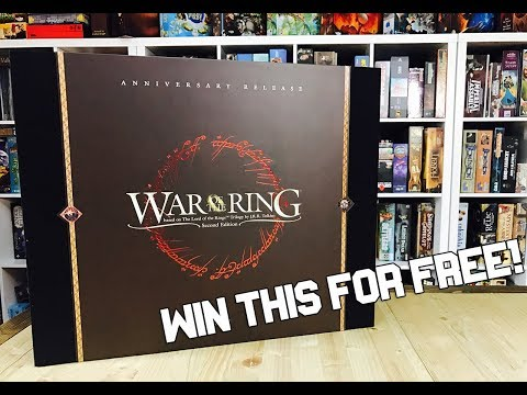 War of the Ring GIVEAWAY
