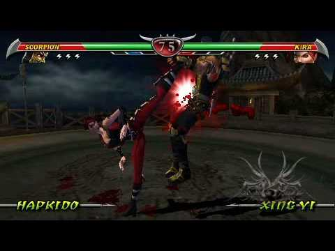 mortal-kombat-unchained-psp---remotejoy-gameplay