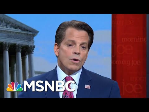Anthony Scaramucci: Exposing President Trump's Lies Probably Won't Beat Him | Morning Joe | MSNBC