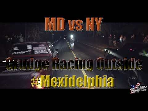 Street Racing - Things Get Heated During MD Vs NY Grudge Race