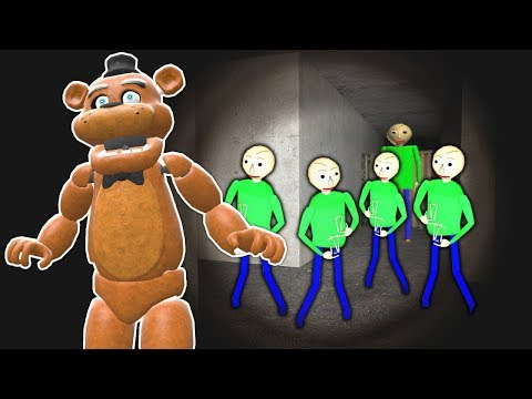 BALDIS BASIC'S ARMY FOUND IN SEWER?! - Garry's Mod Gameplay - Gmod Multiplayer Fnaf Survival thumbnail