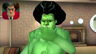 Scary Teacher 3D New Teacher Hulk Part 9 Gameplay Walkthrough (IOS ANDROID)