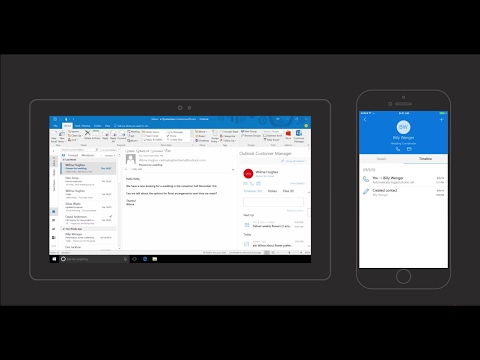 Outlook Customer Manager - Getting started
