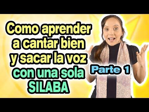 Como aprender a cantar BIEN y SACAR LA VOZ con UNA SOLA SILABA Parte 1 - CECI SUAREZ Clases de Canto