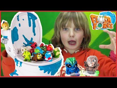 APRIAMO 8 WATER FLUSH FORCE - Mega collezione di WC Spin Master - video per bambini - Canale Nikita