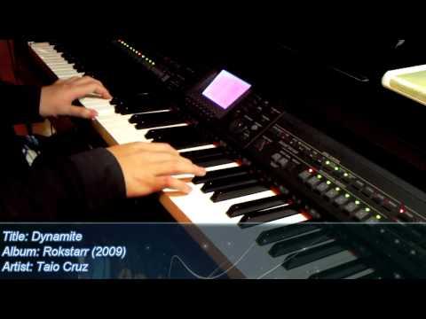 Taio Cruz  Dynamite Piano Version