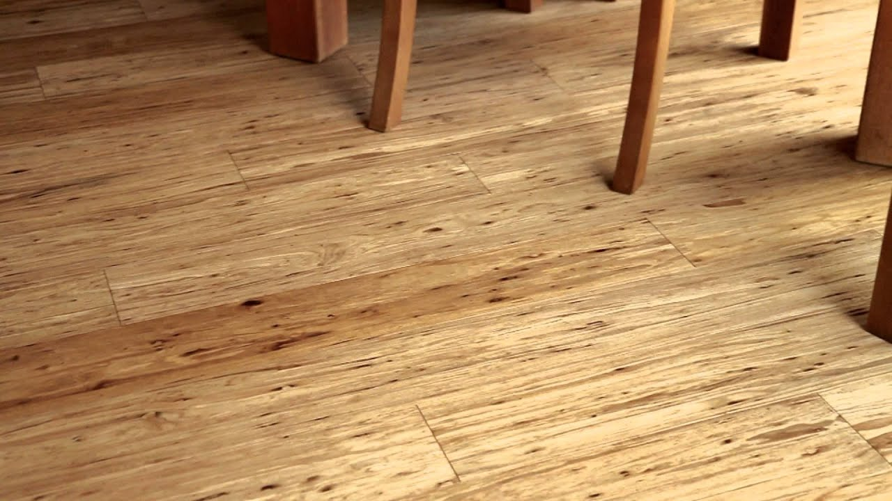 Oak Flooring Look with Natural Fossilized Eucalyptus
