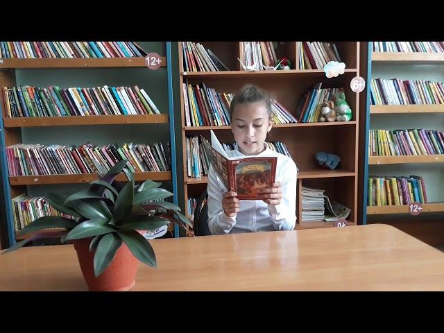 Изображение предпросмотра прочтения – ЯнаПрокопенко читает отрывок изпроизведения «Му-Му» И.С.Тургенева