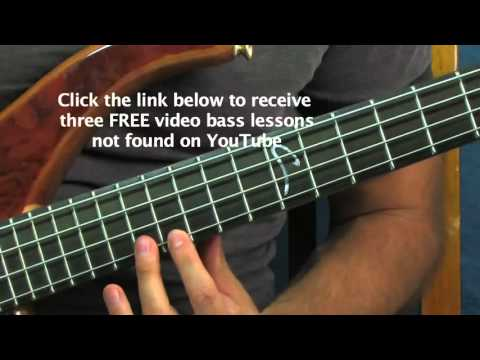 easy bass guitar lesson the munsters theme jack marshall