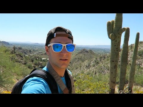 HIKING IN THE DESERT - (Quartz Ridge, Phoenix, AZ)
