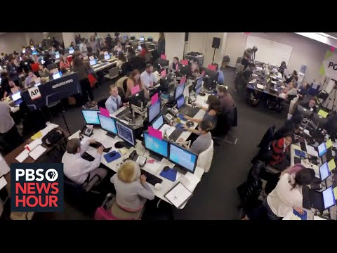 How the Associated Press relies on 'facts and math' to call election results