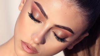 SUNSET GLAM MAKEUP | Hindash