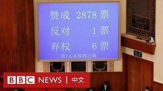 香港國安法:決議正式通過 市民憂慮香港變成新疆- BBC News 中文