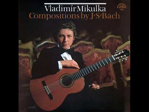 Vladimir MIKULKA plays J.S.BACH LP 1980