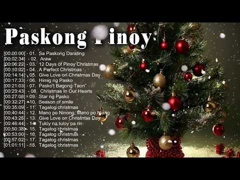 Paskong Pinoy Best Tagalog Christmas Songs 2020 - Traditional Christmas Songs Collection