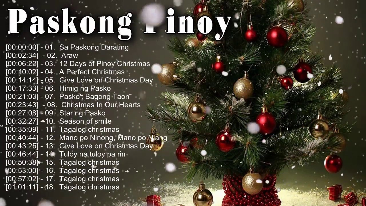 paskong pinoy best tagalog christmas songs 2018 traditional christmas songs collection youtube. Black Bedroom Furniture Sets. Home Design Ideas