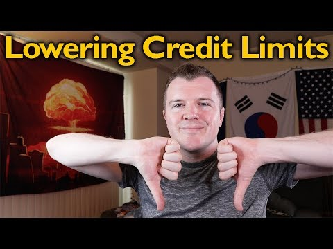 Lowering My Credit Card Limits - LIVE Phone Call