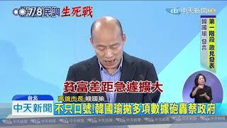 20190704中天新聞 林建甫、馬凱撐腰!重量級學者助韓國瑜收服知識藍