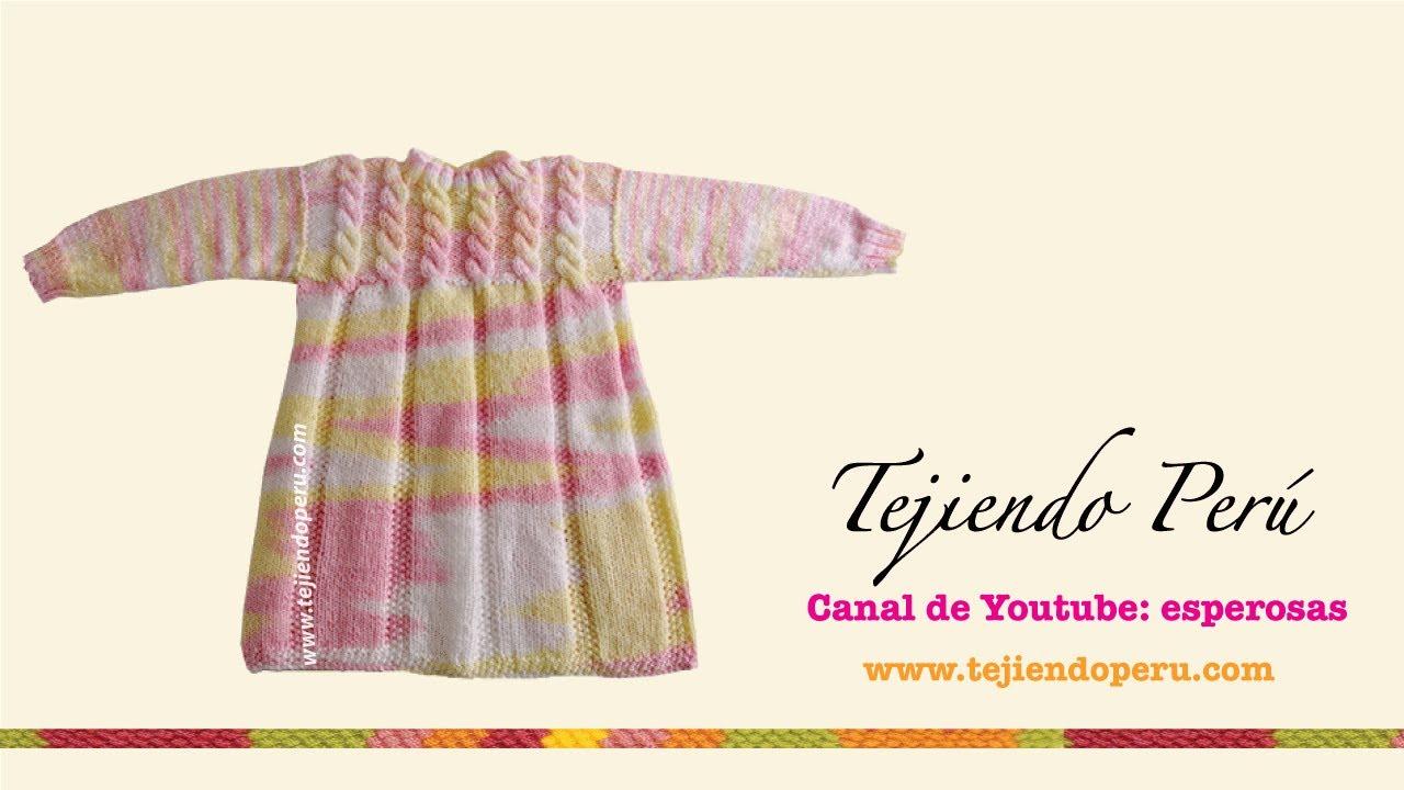 ea0930e89 Vestido para niña - Tejiendo Perú