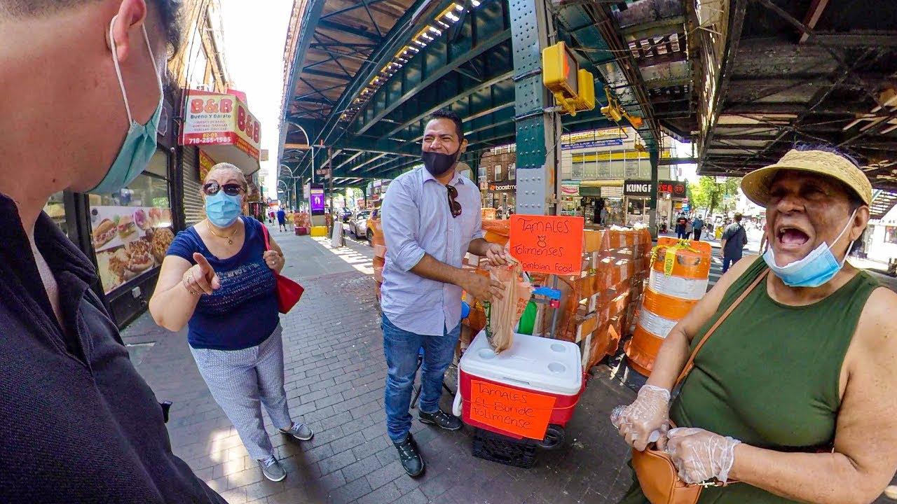 Gringo divierte el barrio latino en Nueva York con su español