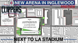 LA Clippers Arena next to LA Stadium in 2024 Preview