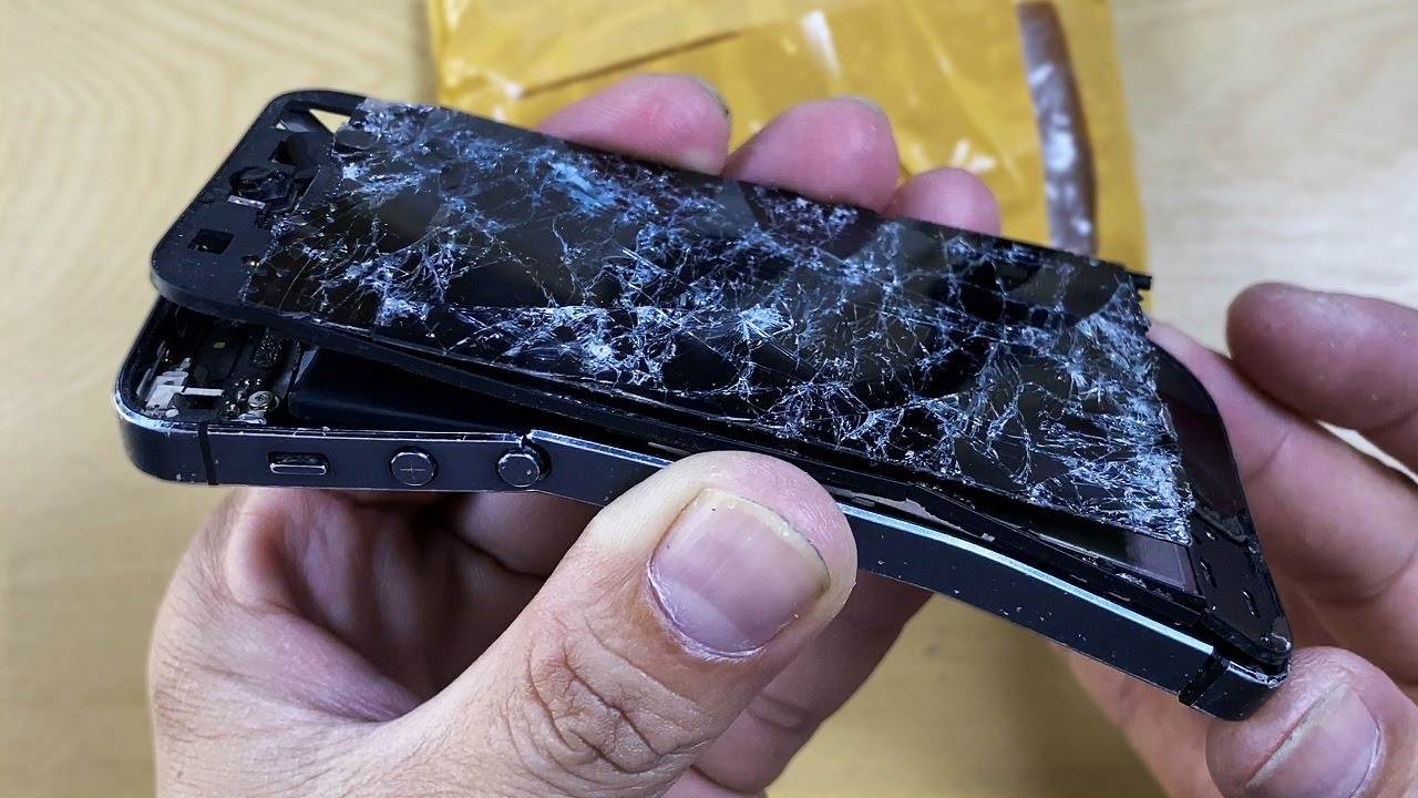 Restoration destroyed phone | Restore iPhone 5 | Rebuild broken phone