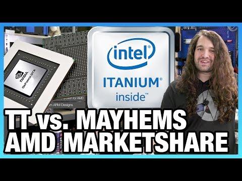 HW News - AMD Marketshare, Thermaltake Fights Mayhems