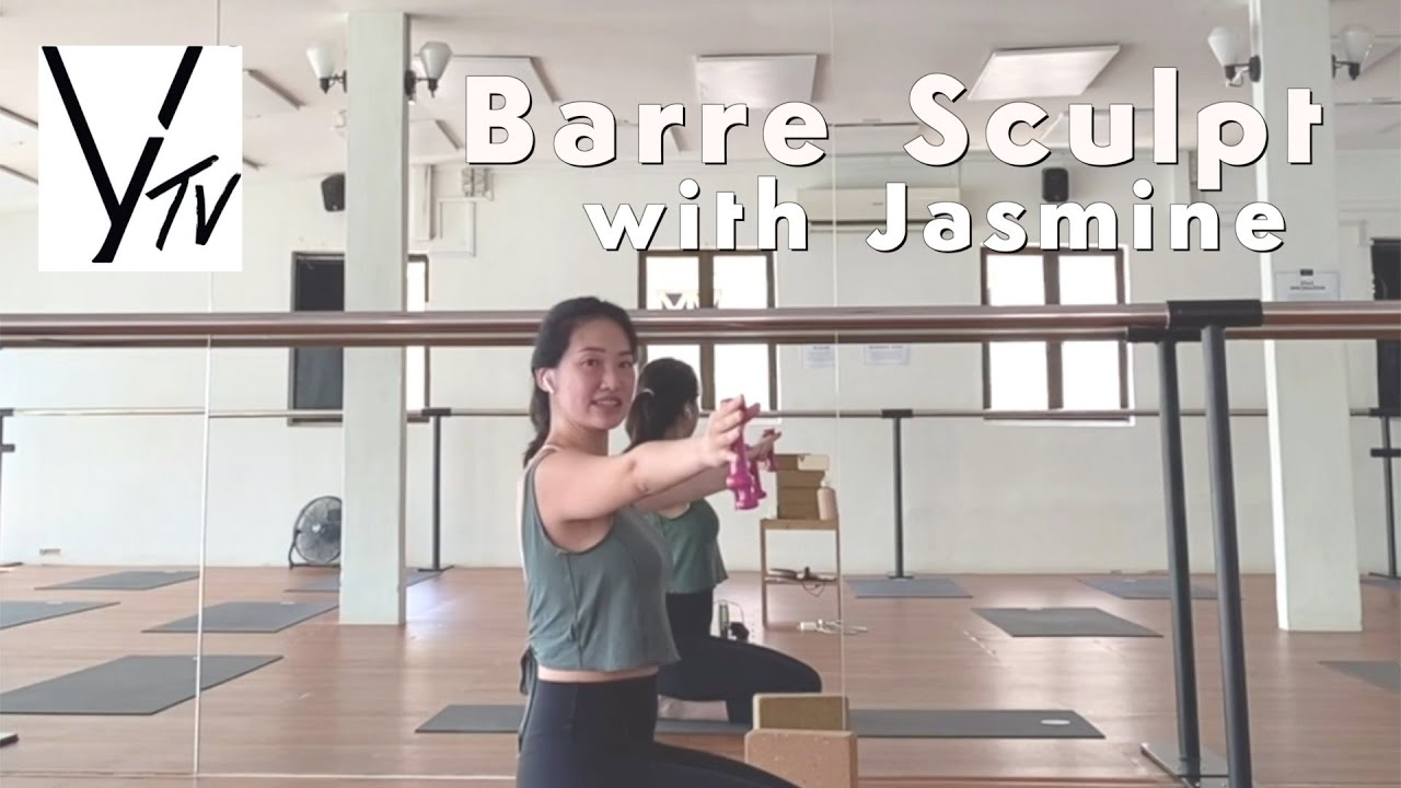 30 minutes Barre Sculpt with Jasmine