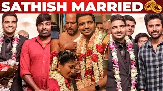 Comedian Sathish Gets Married!!