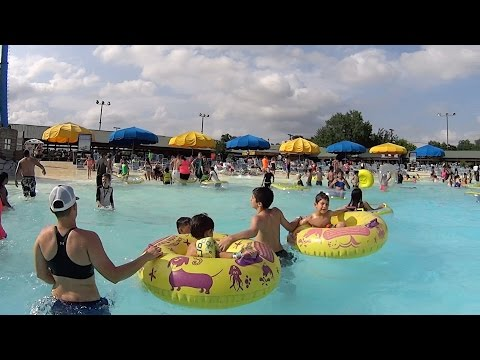The Torrent River Ride at Schlitterbahn New Braunfels