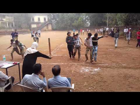 3rd day sports in HDA high school , Kalusta | Three leg race ( Senior group ) | 30-12-2017