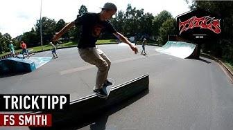 How to Frontside Smith Grind - einfach und schnell Skateboard Tricks lernen (deutsch/german)