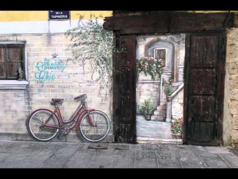 shabby chic vintage market valencia CALLE TAPINERIA MURAL