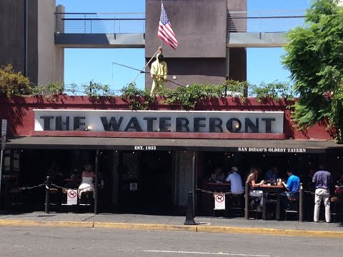 Waterfront Bar, San Diego - History and Tour