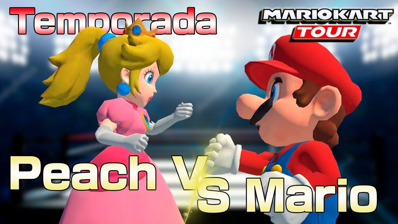 Temporada Mario VS Peach 🍄⚔️👑 en MARIO KART TOUR 🏎️ | BDV 🎮