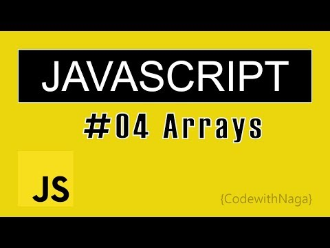 JavaScript Tutorial for Beginners in Tamil (2019) | Arrays thumbnail