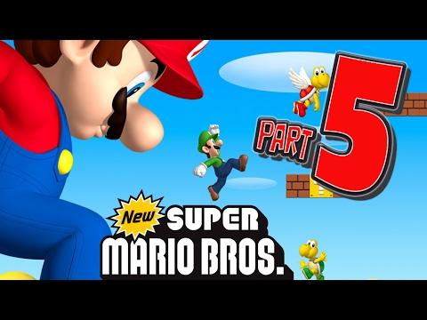 New Super Mario Bros PART 5 Snow World