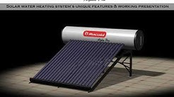 Racold Alpha pro solar water system New!