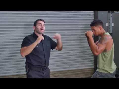 Self Defense Techniques - Five Basic Hand Strikes & Defense